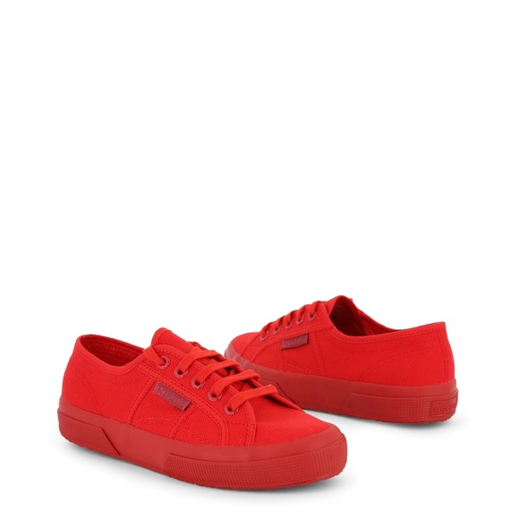 Superga Shoes | Superga Red Fabric